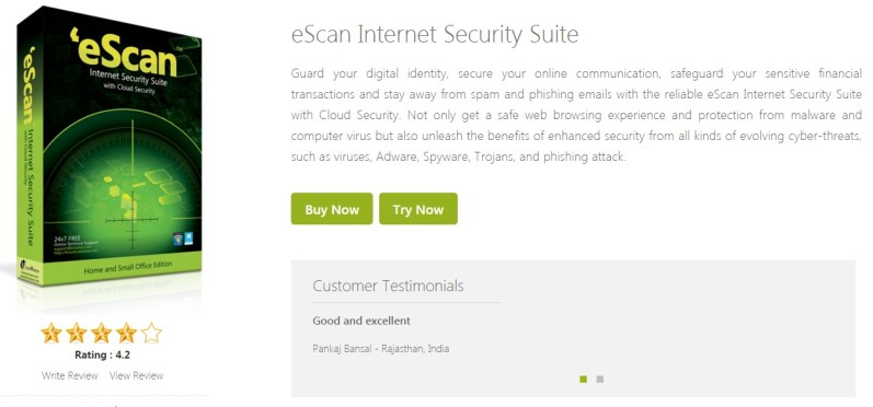 MicroWorld eScan Internet Security Suite 14.0