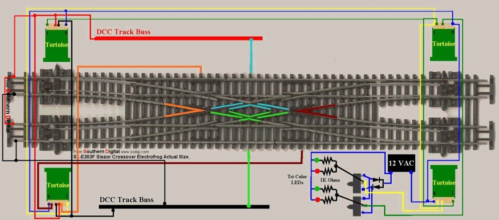 medium resolution of n peco code 55double crossover wiring diagram
