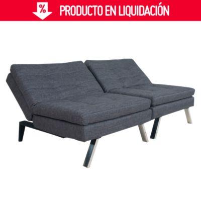 mercadolibre uruguay sofa cama usado naturewood sofas y futones sodimac constantino gris