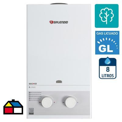 Calefont GL 8 litros tiro natural automtico  Sodimaccom