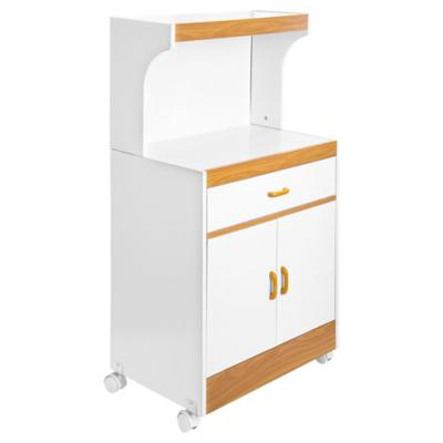 Mueble base para microondas 61x113x39 cm Blanco  Sodimaccom
