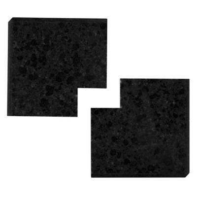 Esquina de granito 78x78x3 cm negro  Holztek  1947974