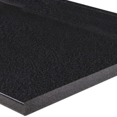 Cubierta para mesn de cocina 182x50 cm Granito Negro  Sodimaccom