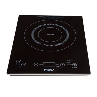 Encimera elctrica porttil 1 quemador negro  FDV  2725959