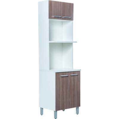 Mueble para microondas 4 puertas 60x207x485 cm MDP