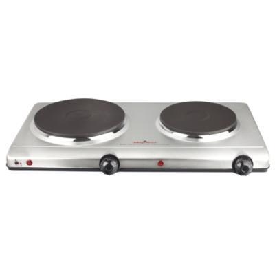 Cocina elctrica 2 quemadores silver  Sodimaccom