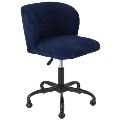 silla PC Dante 55x57x7991 cm azul  Homy  3345505