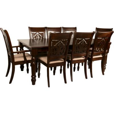 Juego de comedor Linz 6 sillas y 2 sitiales  Sodimaccom
