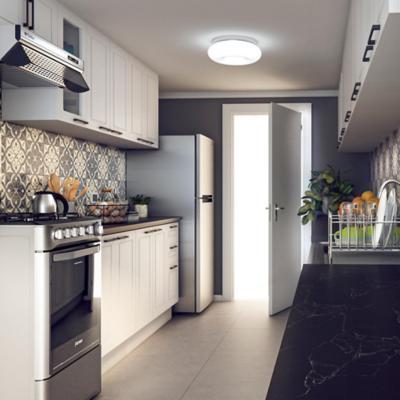 Iluminacin de bao y cocina