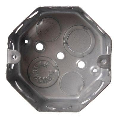 Caja de luz de hierro octogonal chica 8 cm  Namuncura