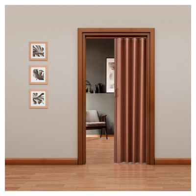 Puerta plegable Tivoli caoba 90 x 200 cm derecha  Hoggan