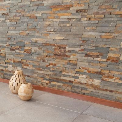 Revestimiento piedra 15 x 60 xido natural 063 m2