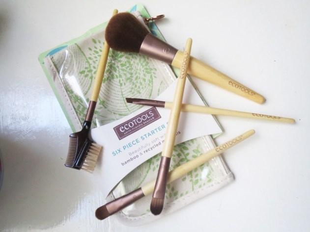 blogmas 2015, day 11, beauty wishlist, ecotools brushes, the 6 piece starter set