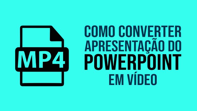 converter slides em video