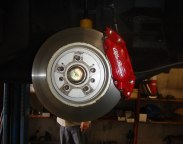 Bigger brakes