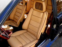 New leather seats with Alcantara piping