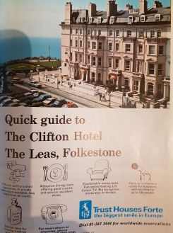 Advertisement for the Clifton © late 1960's