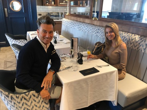Lunch in the Marco Pierre Steakhouse