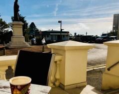Costa Coffee on the terrace in 2018