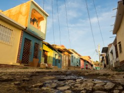 Cobbled and colourful - Tres Cruces