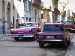 My brother is the only South African I know who has a Lada, so I had a soft spot for Cuba's unsung Ladas, which outnumber the convertible Yank tanks about 10 to 1.