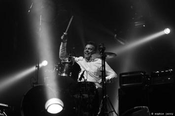 BATTLES. Dave Konopka - Pitchfork Festival Paris. 30 October 2015