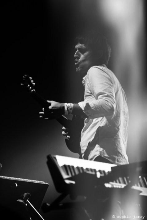 BATTLES. Ian Williams - Pitchfork Festival Paris. 30 October 2015