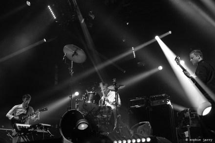 BATTLES. Ian Williams; Dave Konopka. John Stanier - Pitchfork Festival Paris. 30 October 2015