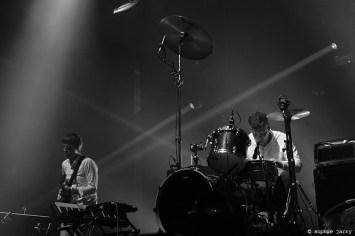 BATTLES. Ian Williams; Dave Konopka - Pitchfork Festival Paris. 30 October 2015
