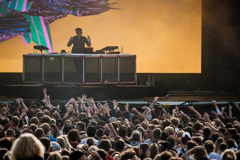 Flume live - Photo by Thorsten Iversen