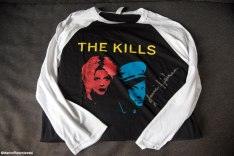 The Kills Tee Shirt, autographed by the band.