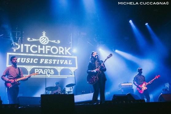 Lucy Dacus.Pitchfork Music Festival.27 octobre 2016.La Grande Halle de la Villette.Paris.Michela Cuccagna©