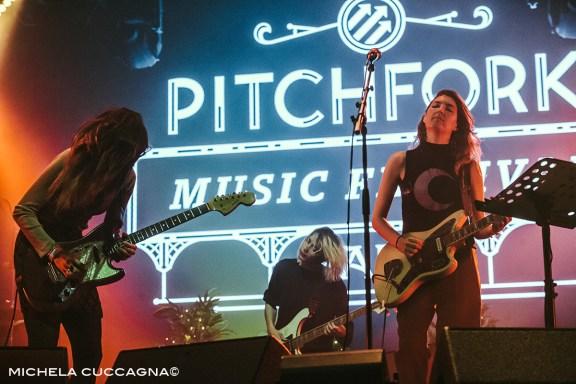 Warpaint.Pitchfork Music Festival.29 octobre 2016.La Grande Halle de la Villette.Paris.Michela Cuccagna©