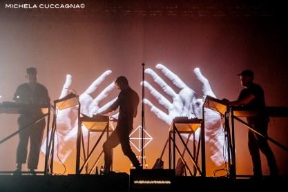 Moderat.Pitchfork Music Festival.28 octobre 2016.La Grande Halle de la Villette.Paris.Michela Cuccagna©