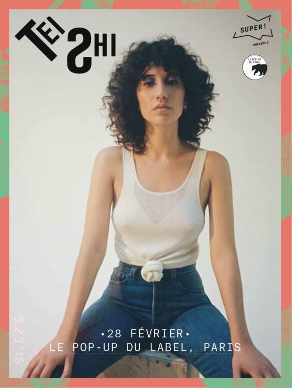 Tei Shi - Live at Pop Up Du Label, Paris - Sodwee.com