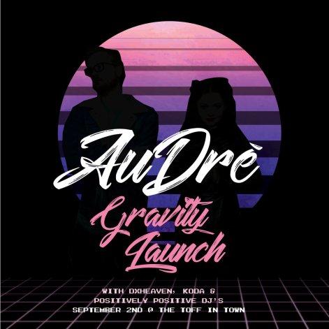 Au Dré - Gravity - Cover Art