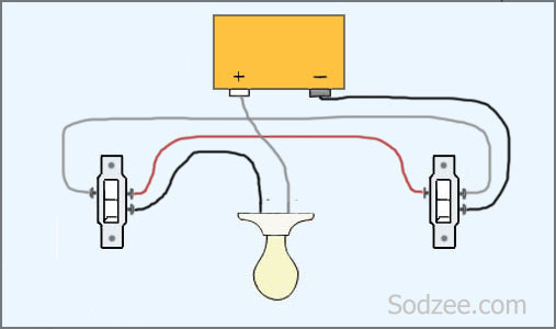 Electrical 2 Way Switch Wiring Diagram 3 Way Light Switch Wiring