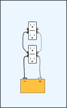 How To Wire A Double Outlet : double, outlet, Simple, Electrical, Wiring, Diagrams, Sodzee.com