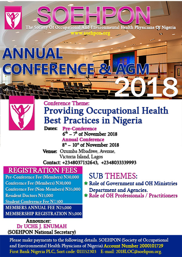 2018 SOEHPON Annual Conference & AGM