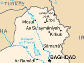 Map Northern Iraq