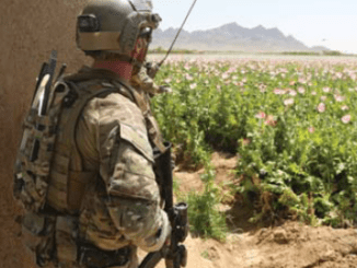 SOF Soldier in Afghanistan