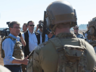 Secretary of Defense Ash Carter visits Air Force Special Operations Command at Hurlburt Field, FL (photo by SGT Amber Smith, DoD, Nov 17, 2016)