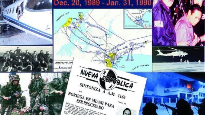 Operation JUST CAUSE in Panama took place in December 1989. (graphic from USSOCOM Twitter feed Dec 20, 2016.