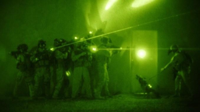 Night Raid by SOF (Image credit: Mass Communication Specialist 1st Class Michael B.W. Watkins, U.S. Navy)