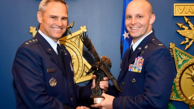 The 2017 Special Tactics Officer of the Year is 1st Lt. Bryan Hunt of the Kentucky ANG 123rd Special Tactics Squadron (Photo by Scott M. Ash)