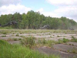 10th Special Forces Soldiers participate in Exercise Flaming Sword 2016 held in Lithuania in May 2016. (U.S. Army video).