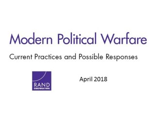 Modern Political Warfare - RAND Corporation - April 2018