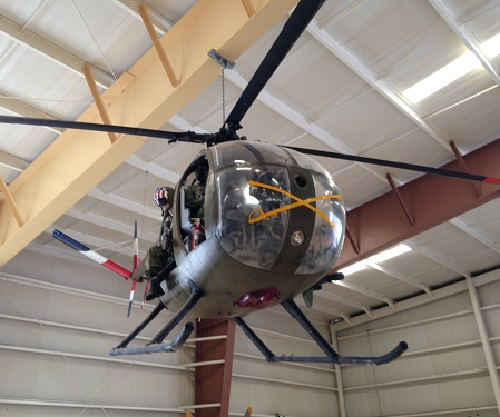 Hughes OH-6A Light Observation Helicopter