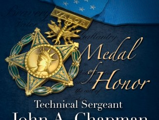 Medal of Honor awarded to John Chapman