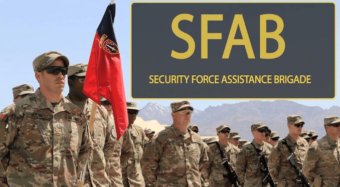 1st SFAB Afghanistan deployment